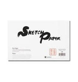 Yasutomo Rice Paper Sketch Pad 12x18 48 Sheets