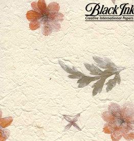 """Garden - Orange Flower 22""""x30"""" Decorative Paper"""