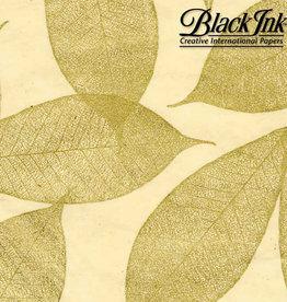 "Golden Leaves 25""x37"" Decorative Paper"
