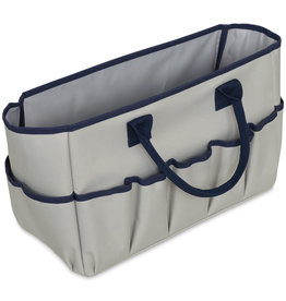 Itoya Entourage Bag, Small, Gray & Navy