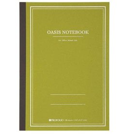 Itoya Oasis Notebook, Large, Green