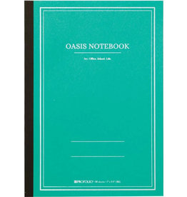 Itoya Oasis Notebook, Large, Winter Green