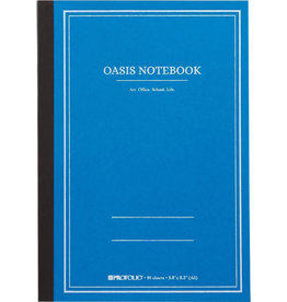 Itoya Oasis Notebook, Small, Sky Blue