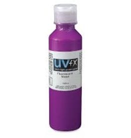 Jack Richeson Uvfx Black Light Fluorescent Violet 120ml