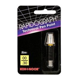 Koh-l-noor Koh-I-Noor Rapidograph Replacement Point 00/.30mm