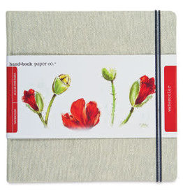 """SPEEDBALL ART PRODUCTS Speedball Travel Series Watercolor Journal, Square, 8.25"""" X 8.25"""", 300 gsm"""