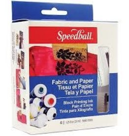 SPEEDBALL ART PRODUCTS Speedball Ultimate Fabric & Paper Block Printing Kit