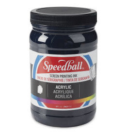 SPEEDBALL ART PRODUCTS Speedball Acrylic Screen Printing Ink, Dark Blue, 32 oz