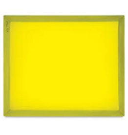 "SPEEDBALL ART PRODUCTS Speedball Screen Printing Aluminum Frame - 305 Monofilament, Yellow Mesh, 20"" X 24"""