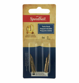 SPEEDBALL ART PRODUCTS Speedball Drawing & Lettering #56 Twin Pack Nibs