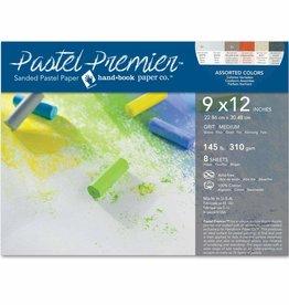 "SPEEDBALL ART PRODUCTS Speedball Pastel Premier Sanded Assorted Color Medium Grit Pastel Pochette, 9"" X 12"", 8 sht"