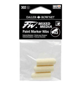 Daler-Rowney Fw Mkr Nib Set  8  Rnd 3- 6Mm 3Pc