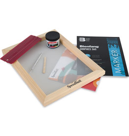 SPEEDBALL ART PRODUCTS Speedball Screen Printing Beginner Paper Stencil Kit