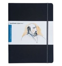 "SPEEDBALL ART PRODUCTS Travelogue Journal, Large Portrait, Ivory Black, 10.5"" X 8.25"""