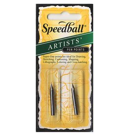 SPEEDBALL ART PRODUCTS Speedball Drawing & Lettering #102/#107 Pen Nibs, 1 each per Card