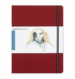 "SPEEDBALL ART PRODUCTS Travelogue Journal, Large Portrait, Vermilion Red, 10.5"" X 8.25"""