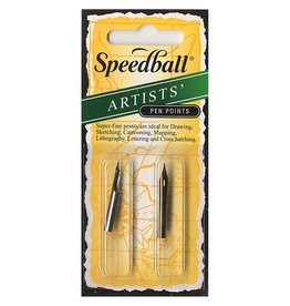 SPEEDBALL ART PRODUCTS Speedball Drawing & Lettering #102/#108 Pen Nibs, 1 each per Card