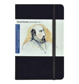 "SPEEDBALL ART PRODUCTS Travelogue Journal, Portrait, Ivory Black, 5.5"" X 8.25"""
