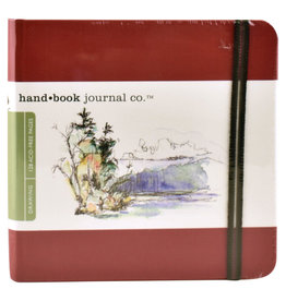 "SPEEDBALL ART PRODUCTS Travelogue Journal, Square, Vermilion Red, 5.5"" X 5.5"""