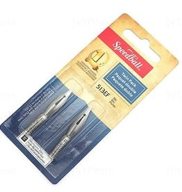 SPEEDBALL ART PRODUCTS Speedball Drawing & Lettering #513EF Twin Pack Nibs