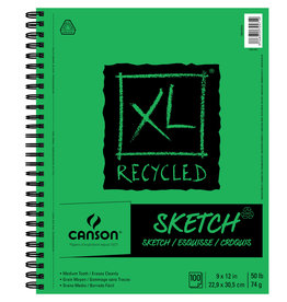 Canson Canson Xl Recycled Sketch 9X12 100 Sw