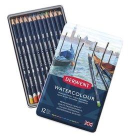Derwent Derwent Watercolor Pencils Set of 12