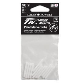 Daler-Rowney Daler-Rowney FW Paint Marker Nib Round 1-2mm 3-Pack