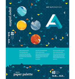 Art Alternatives Art Alternatives Paper Palette Pad 16x20, 40 Sheet