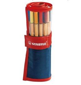 STABILO Stabilo Point 88 Fineliner Pens Set of 25