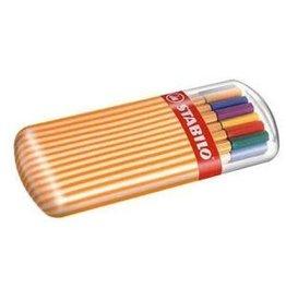 STABILO Stabilo 20-Color Zebrui Set