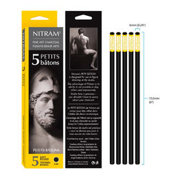 Nitram Nitram Charcoal Beaux  X-Soft Ptit 6 Mm