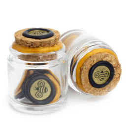 Global Solutions Glass Bottle Wax Seals - Bee