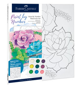 FABER-CASTELL PAINT BY NUMBER SUCCULENTS