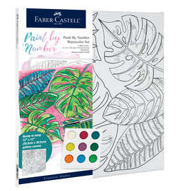 FABER-CASTELL PAINT BY NUMBER TROPICAL