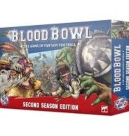 Games Workshop Warhammer Blood Bowl Game of Fantasy Football 2nd Edition