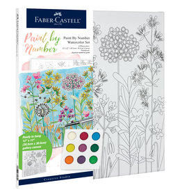 FABER-CASTELL PAINT BY NUMBER FARMHOUSE FLORAL