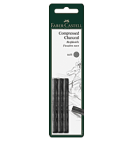 FABER-CASTELL Compressed Charcoal