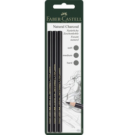 FABER-CASTELL Natural Charcoal Pencil Set