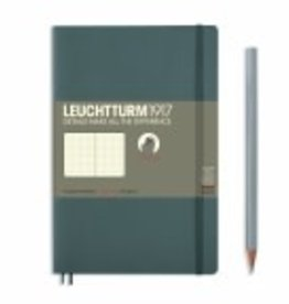 LEUCHTTURM1917 Leuchtturm 1917 Anthracite, Softcover, Paperback, 123 pages, dotted