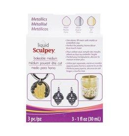 Sculpey Liquid Sculpey Multi-Pack  - Metallics
