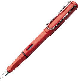 LAMY Lamy Safari Fountain Pen Red Fine