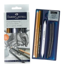 FABER-CASTELL Faber-Castell Creative Studio Charcoal Sketch Set