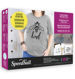 SPEEDBALL ART PRODUCTS Speedball Screen Printing Craft Vinyl Kit