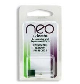 Medea Iwata Neo Series Airbrush Replacement Part - Nozzle, 0.35 mm, Neo-CN