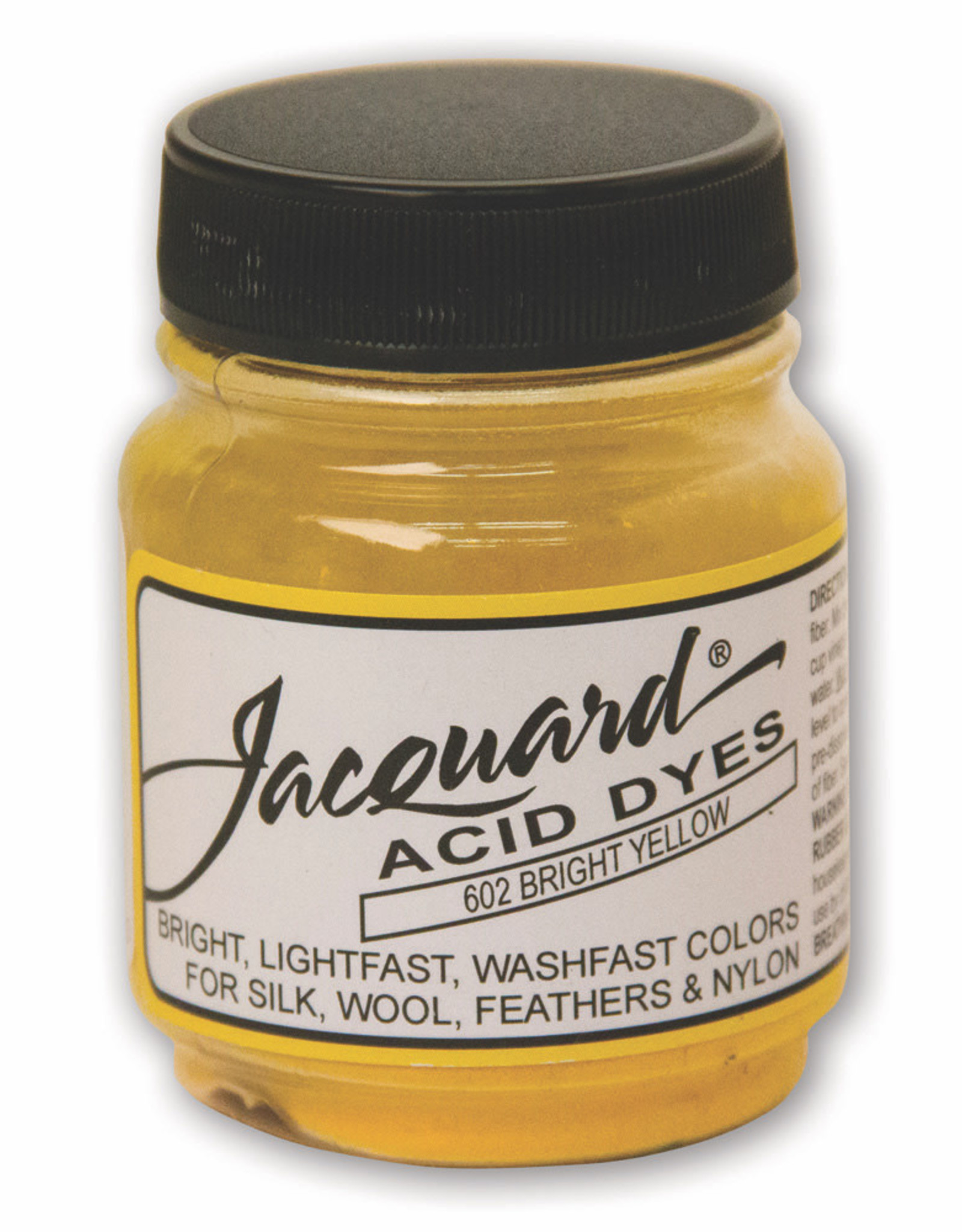 Jacquard Jacquard Acid Dye #602 Bright Yellow 1/2oz