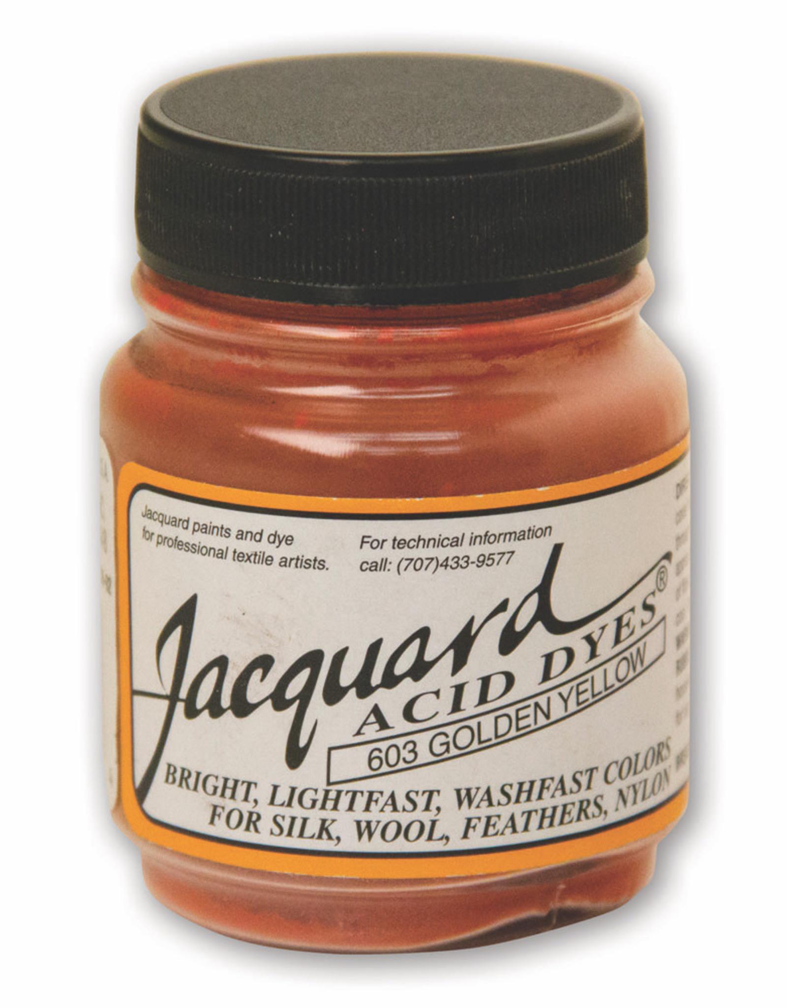 Jacquard Jacquard Acid Dye #603 Golden Yellow 1/2oz