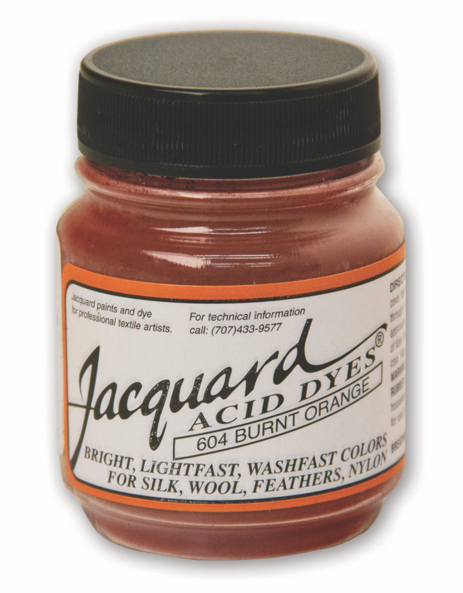 Jacquard Jacquard Acid Dye #604 Burnt Orange 1/2oz