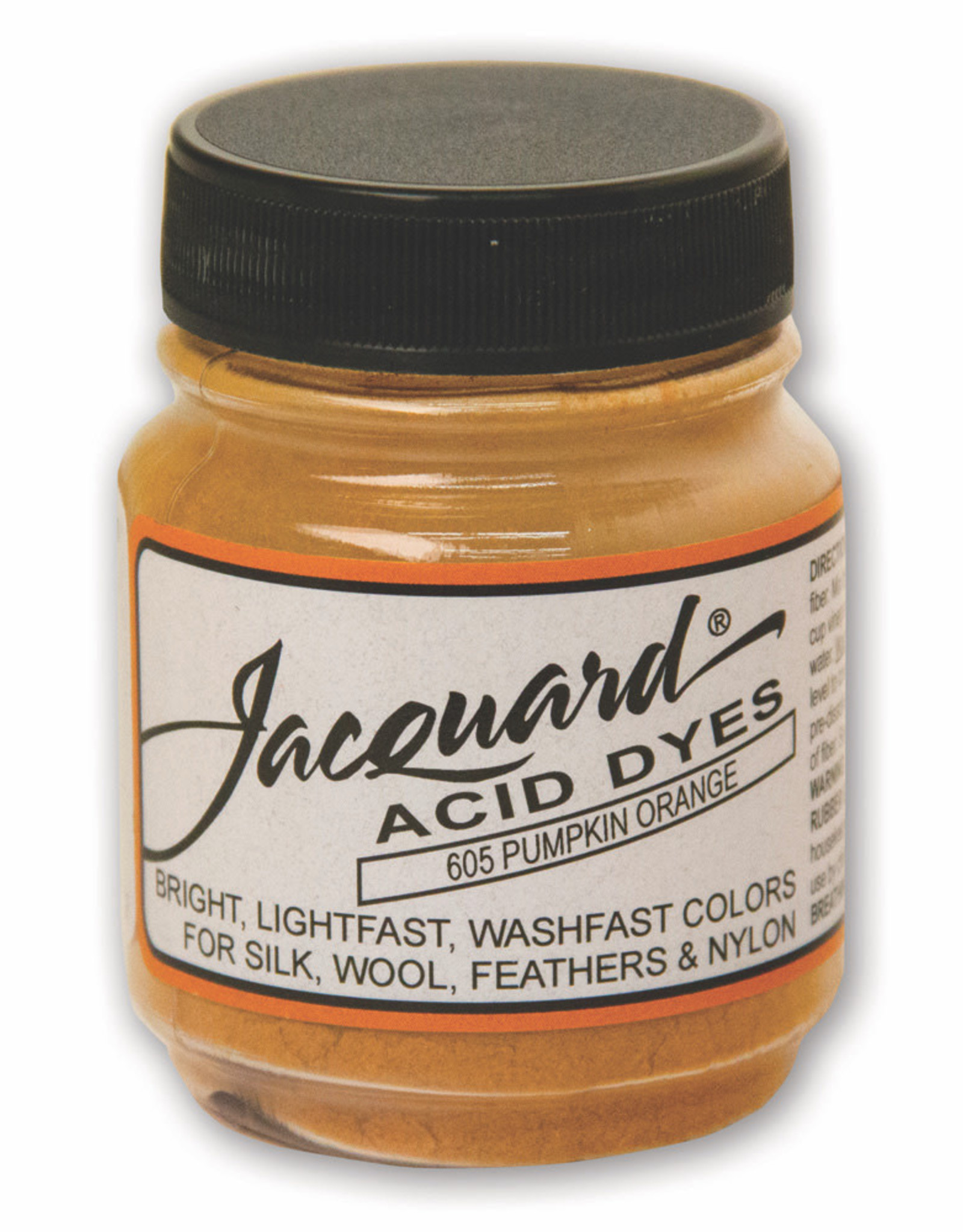 Jacquard Jacquard Acid Dye #605 Pumpkin Orange 1/2oz