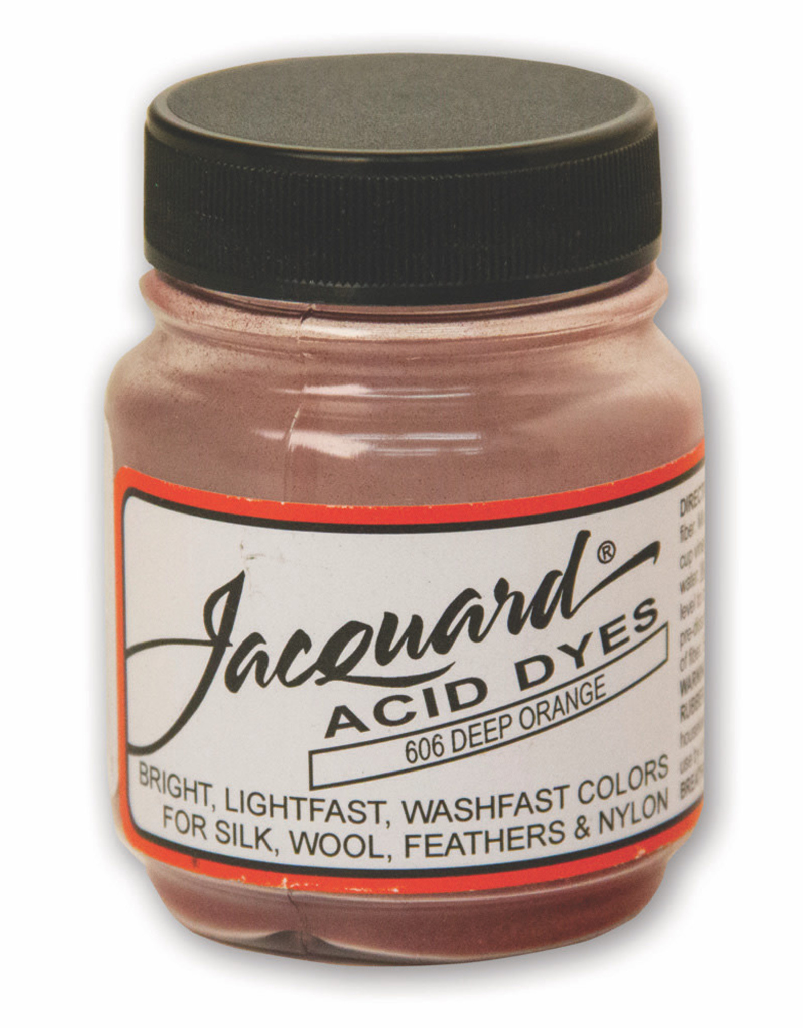 Jacquard Jacquard Acid Dye #606 Deep Orange 1/2oz