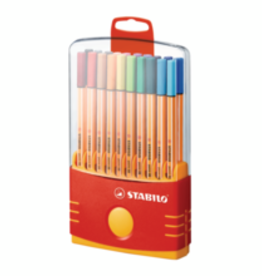 STABILO Stabilo Point 88 Clrparade Tab